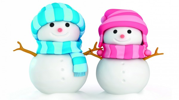 Картинки снеговичков на рабочий стол