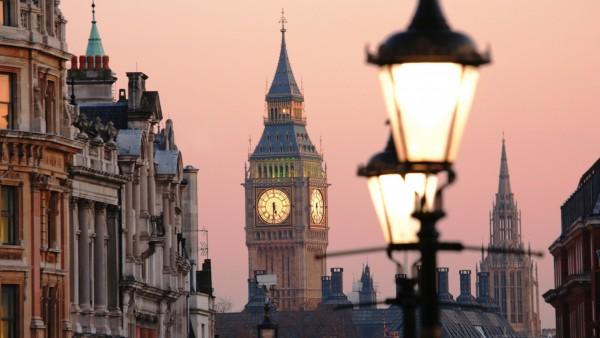 Лондон, Биг Бен, закат, город, картинки, скачать, бесплатно