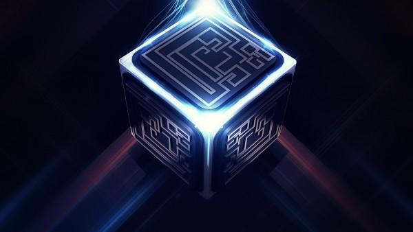 Энергетический куб абстрактные картинки на рабочий стол