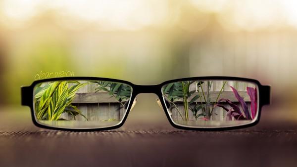 Очки абстрактные обои