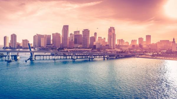 Miami, Florida, сша, Флорида, Майами, город, картинки