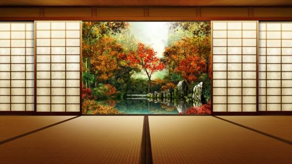 Японский сад картинки для рабочего стола