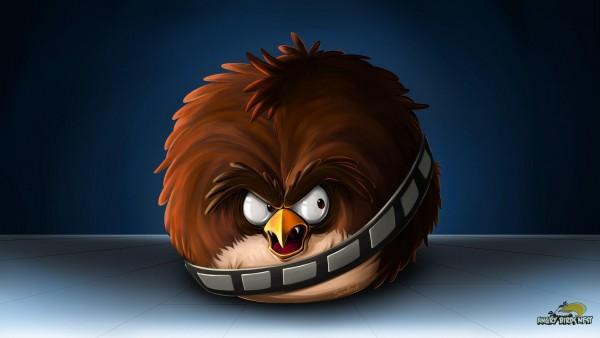 Angry Birds звездные войны игра обои hd