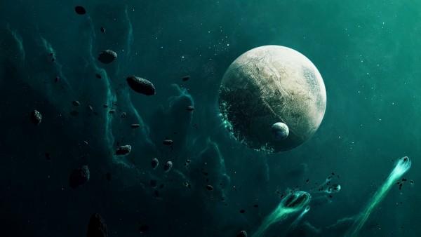 Глубины необъятного космоса обои