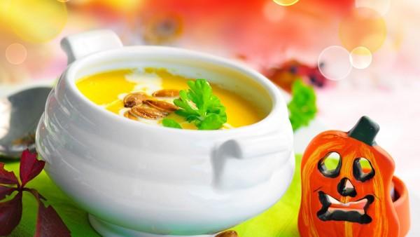 Хэллоуин-суп обои еды hd