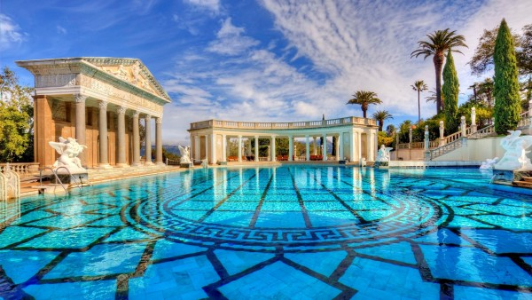 Hearst castle roman pool wallpapers high resolution