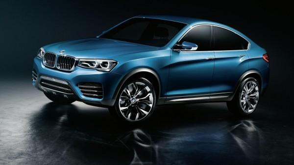 BMW x4 концепт-кар заставки на рабочий стол hd