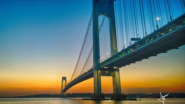 Длинный мост заставки на рабочий стол hd