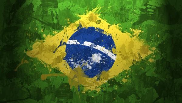 Флаг Бразилия заставки на рабочий стол hd