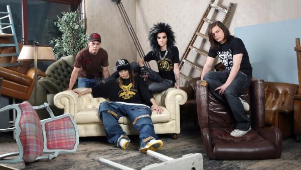 Tokio Hotel немецкая рок-группа заставки на рабочий стол hd