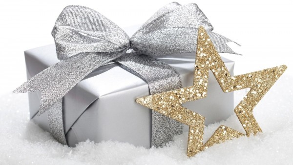 Snow gift star winter christmas wallpaper high resolution hd