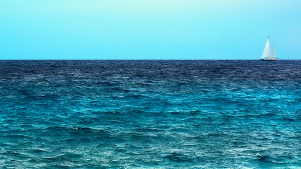Яхта в море картинки для рабочего стола скачать