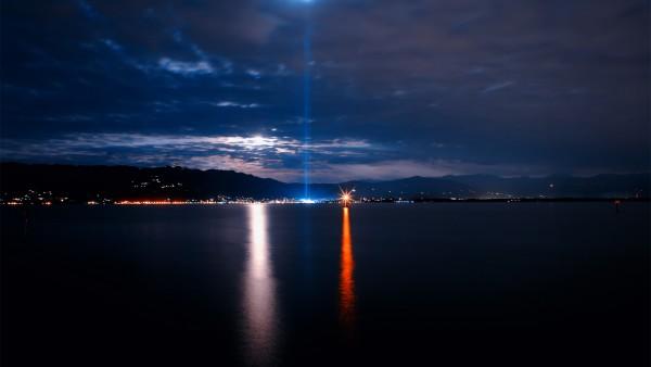 Ночной город набережная картинки для рабочего стола скачать