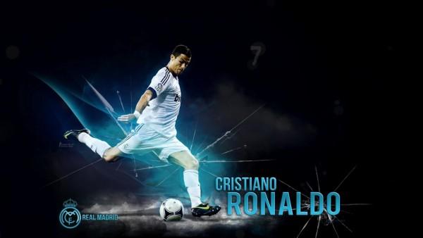Обои футболиста Криштиану Раналду, Реал Мадрид