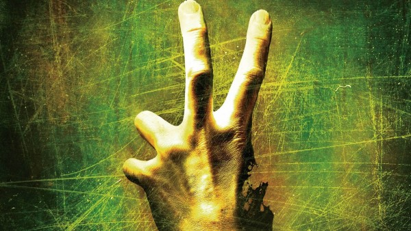 HD обои рука с двумя пальцами