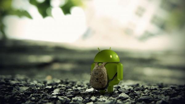 HD обои смешной 3d андроид бесплатно