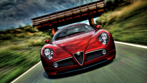 HD обои на которых изображен Alfa Romeo
