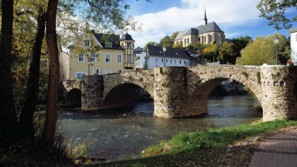 HD обои Фото каменного моста