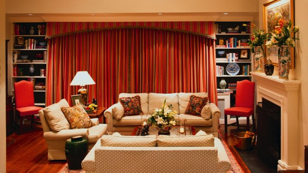 HD обои Фото гостинной комнаты
