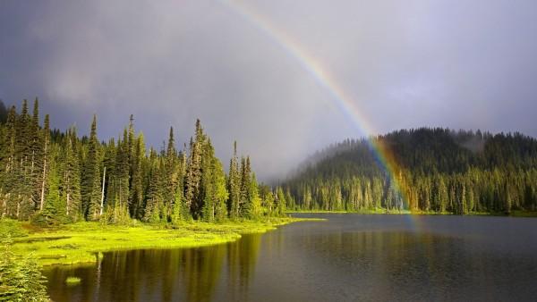 HD обои Фото радуги в высоком качестве