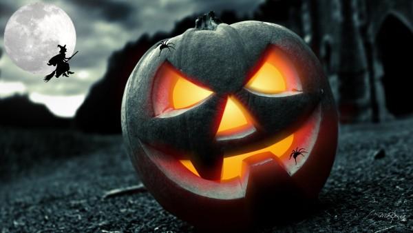 Рисунок для иностранного праздника Halloween