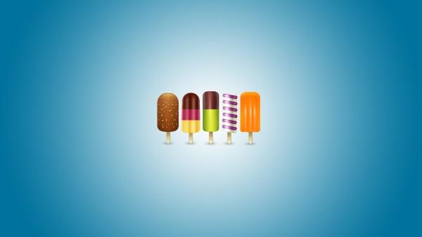 Картинка аппетитного мороженого