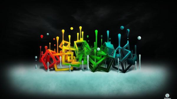 Абстрактные картинки, фоновые графити, обои hd, бесплатно