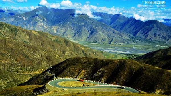долина, Китай, азия, холм, обои hd, бесплатно