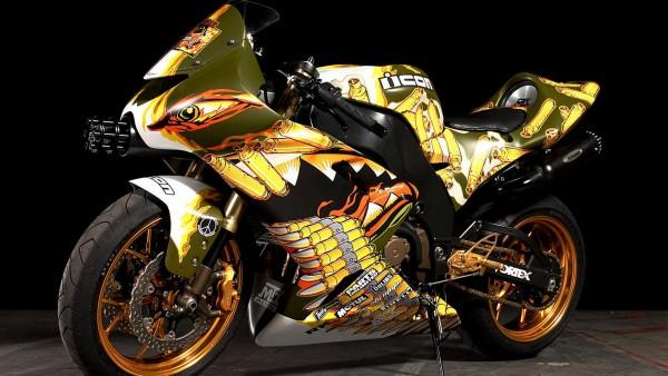 Тюнингованный мотоцикл, супер байк, обои hd, бесплатно