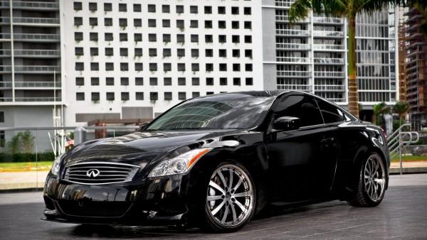Infiniti, инфинити, черный автомобиль, обои hd, бесплатно