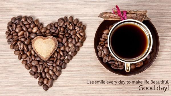 Любовь, Доброе утро с чашкой кофе обои hd на рабочий стол