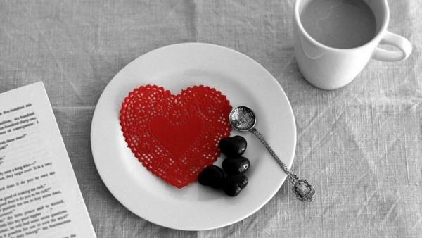 Доброе утро, романтические, украшения, фоны, заставки, сердце