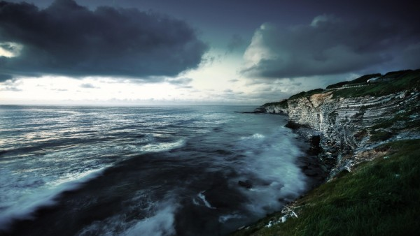 Атлантический океан, западное побережье, скалы, море, картинки