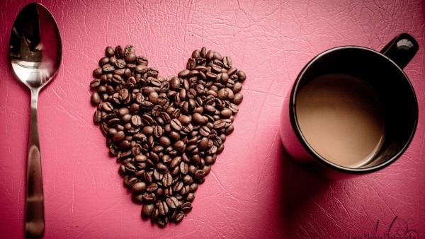 Я люблю кофе фотоколлаж доброе утро широкоформатные обои для рабочего стола