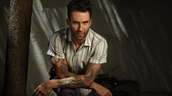Адам Левин, Певец, Maroon 5, Adam Levine, парень, фоны, заставки