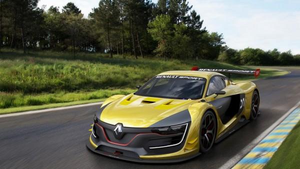 Широкоформатные обои Renault Sport R.S. спорткар автомобиль