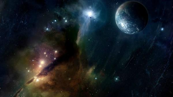 Широкоформатная фотография космоса