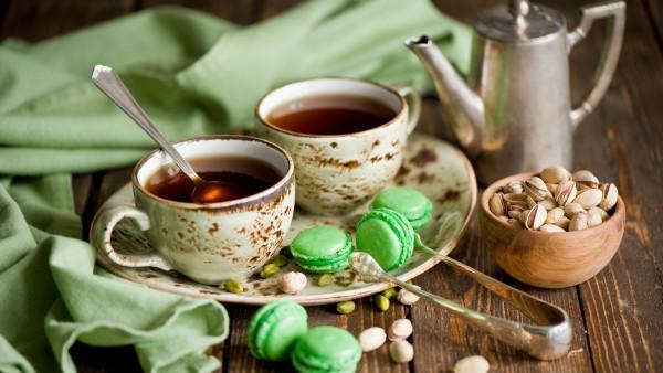 Широкоформатная фотография чудесного чаепития