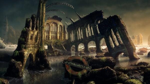 Картинка старой, разваленной архитектуры