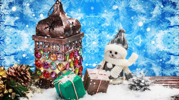 Фото, Праздники, Рождество, Снеговики, Подарки, Сосновая шишка, картинки