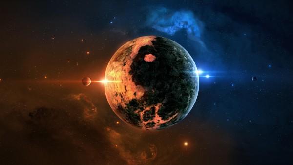 Инь Ян Планета фоновые заставки космоса