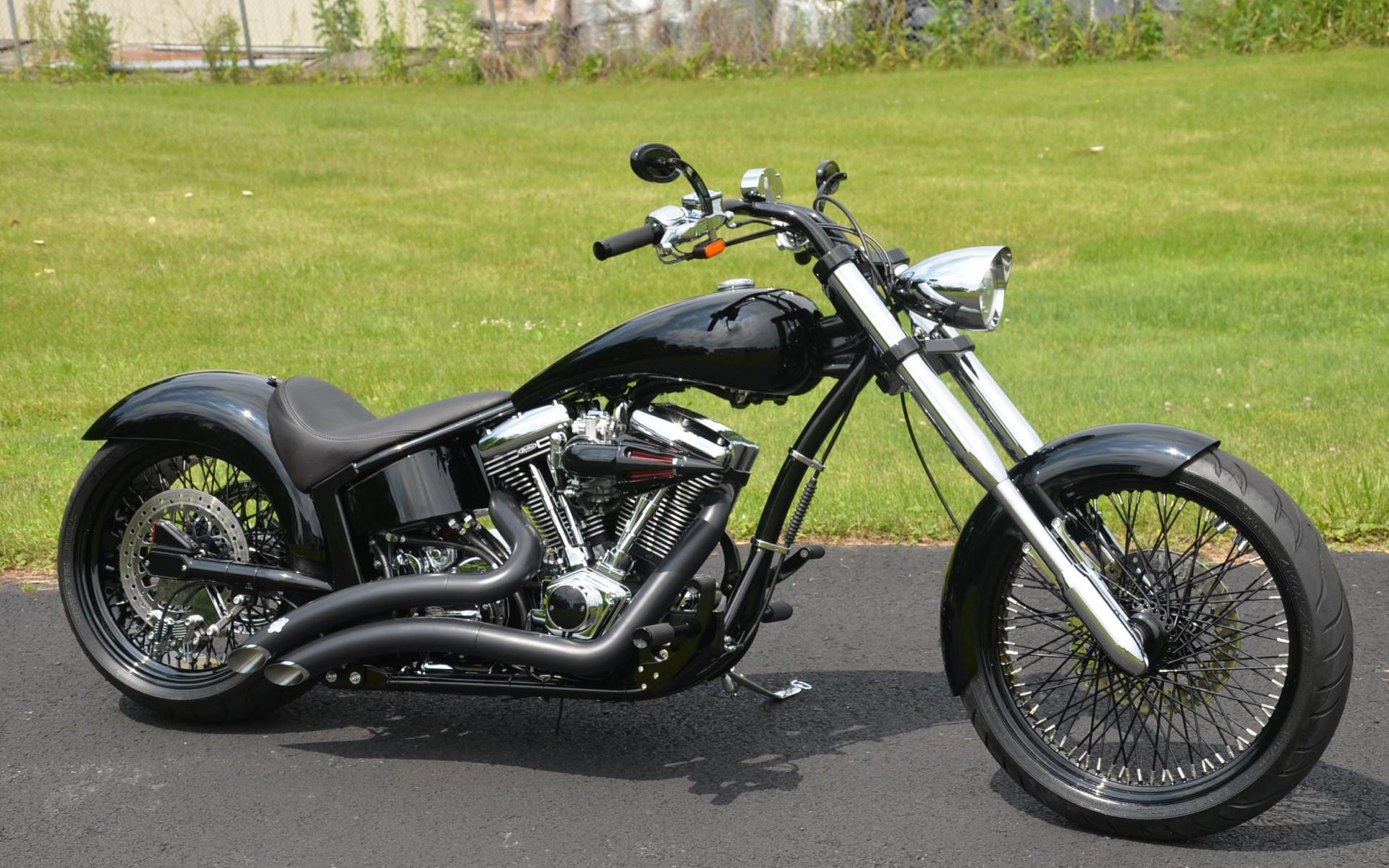 Обои с мотоциклом на рабочий стол 4