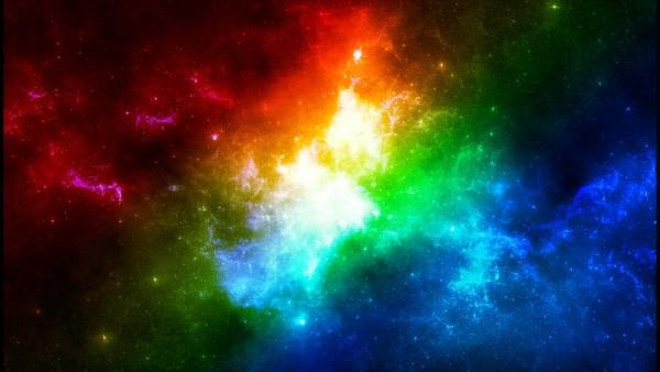 Радуга в космосе