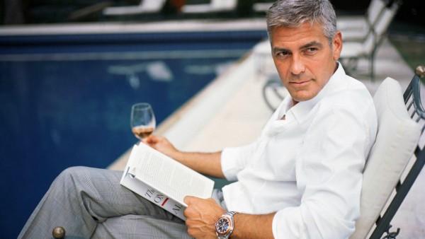 Джордж Клуни широкоформатные заставки на рабочий стол