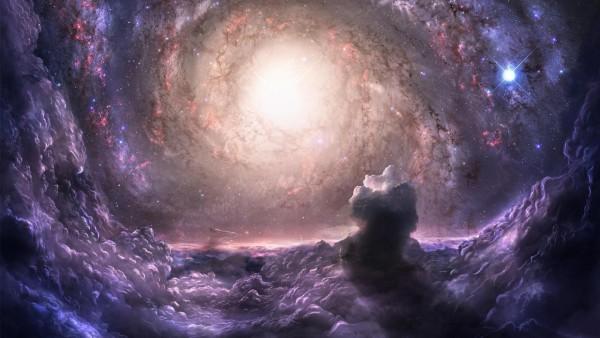 Скопление галактик, гравитация, связь