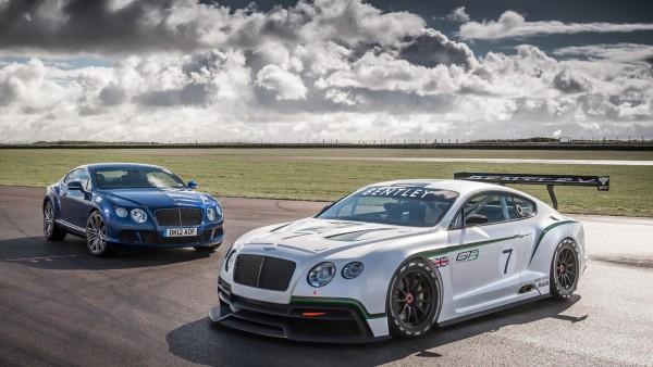 Bentley Continental GT3 5 красивые авто