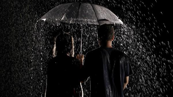 Под дождем романтические картинки