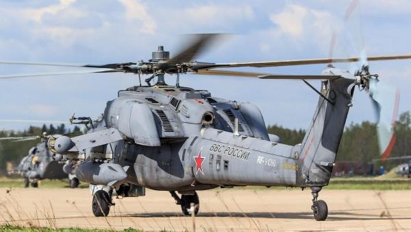 Ми-28 российский ударный вертолёт