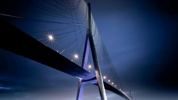 Ночные огни, Мост, картинки