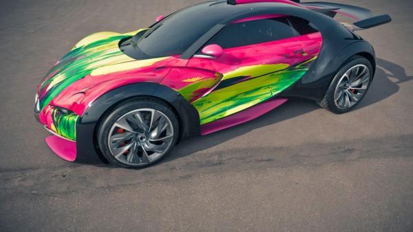 Citroen Survolt Concept автомобиль заставки